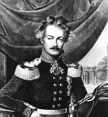 Herzog Karl zu Mecklenburg, Halbbruder der Königin Luise. Schwager des Preuenkönigs Friedrich Wilhelm III.