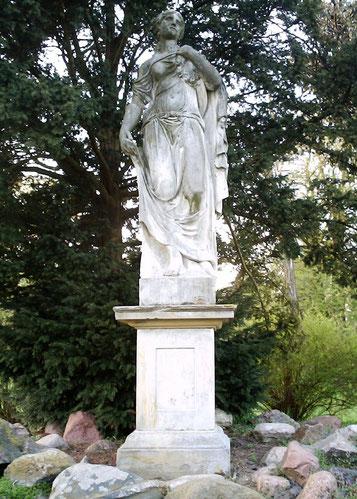 Die barocke Flora im Schlosspark
