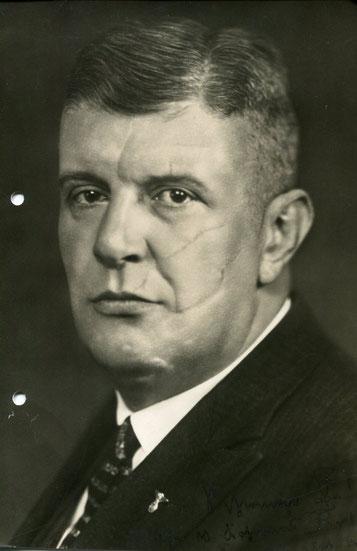 """Ernst Schlange, ein """"Parteigeneral"""" Hitlers, zweimaliger Gauleiter der NSDAP"""