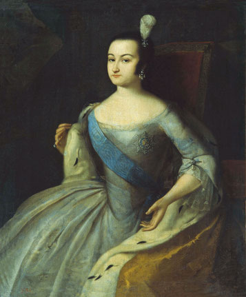 Russlands Regentin Anna Leopoldowna, in Rostock geborene Herzogin Zu Mecklenburg