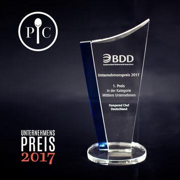 Pampered Chef Unternehmerpreis für mittlere Unternehmen