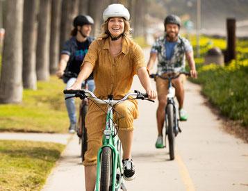 Ausreichend Abstand dank e-Bike