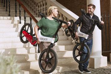 Das Falt- oder Kompakt e-Bike bei einer Beratung aussuchen