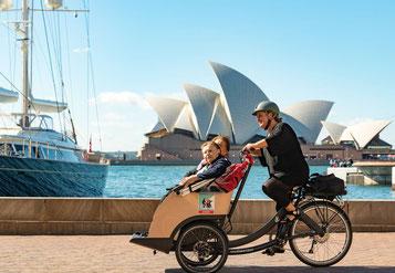 Triobike e-Bikes und Pedelecs in der e-motion e-Bike Welt in Hombrechtikon