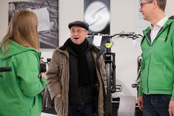 individuelle e-Bike Beratung vom Experten in der e-motion e-Bike Welt Dietikon