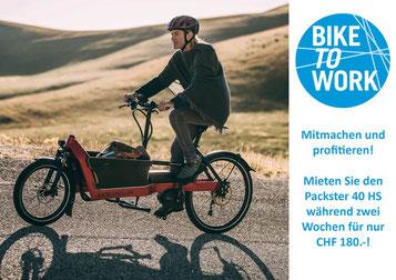 Bike to Work – Schnäppchen