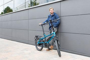 Informieren Sie sich über die Besonderheiten von Falt- und Kompakt e-Bikes bei unseren Pedelec Experten im Shop in Olten