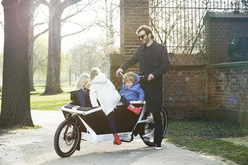 Lasten e-Bikes von Urban Arrow