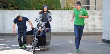 Ein e-Cargobike für Melvin