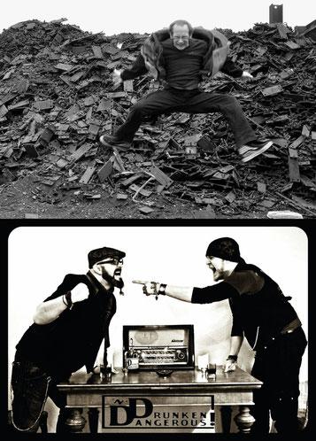 David von N., Drunken und Dangerous (Pressefotos, (c) bei den abgebildeten Typen)