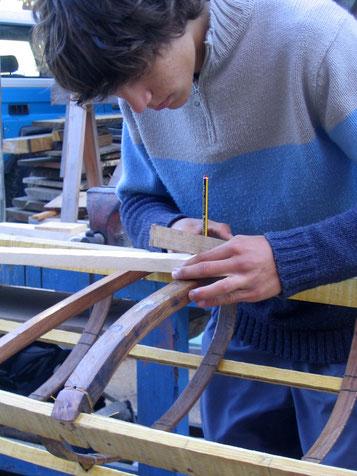 construction kayak groenlandais