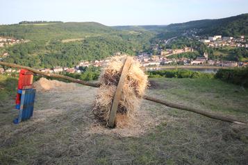Roue de feu, Contz-les-Bains