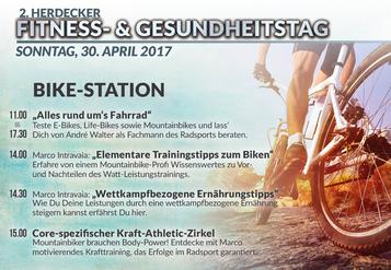Fitness und Gesundheitstag mit e-Bikes von e-motion Herdecke zum Testen