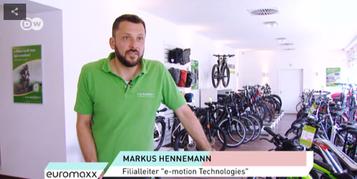 Das Lifestyle-Magazin Euromaxx der Deutschen Welle zu Gast bei den e-Bike Experten in Berlin Mitte