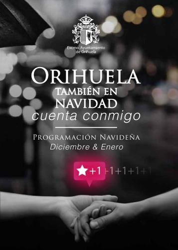Fiestas en Orihuela Programa de Navidad