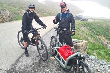 Das einspurige Lasten e-Bike von Riese & Müller