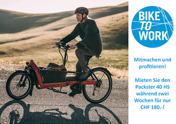 Bike to work in der Schweiz