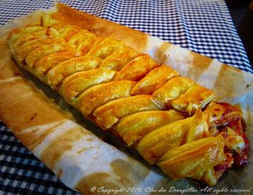 Tresse au chorizo et Burrata