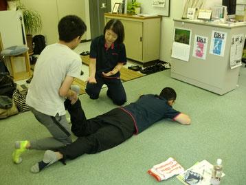 7月のしんそう療方京都研修会の様子
