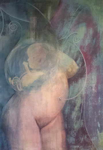 BDL 1610, Acryl auf Leinwand 100 x 70 cm