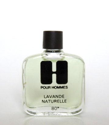 H POUR HOMMES - LAVANDE NATURELLE 80° : MINIATURE SEULE