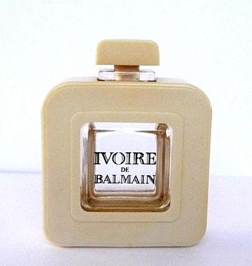 IVOIRE - PARFUM 7,5 ML - FLACON EN VERRE ENCHASSE DANS DU PLASTIQUE BEIGE