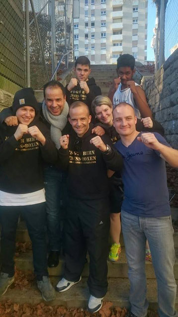 BOXING TEAM ITTIGEN powered by M's-Gym Bern, 3. LC-CUP 2015 am 31.10.2015 La Chaux-de-Fonds (Laurin,Abdel,Marco,Anita,Bernie,Manuel,Swissan)
