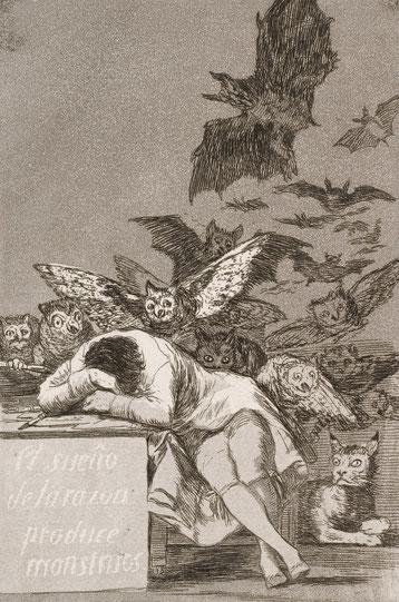 ※12:《理性の眠りは怪物を生む》  1799年