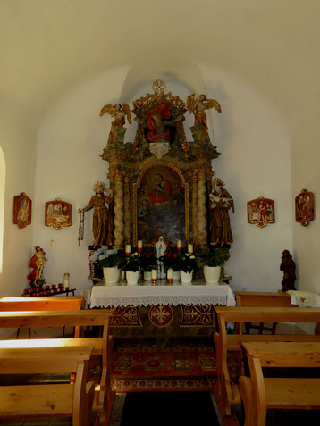 Barockaltar in der Antoniuskapelle
