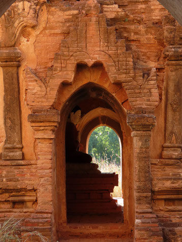Durchblick in Bagan