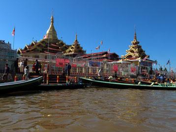 Phaung Daw U-Pagode am Inle See