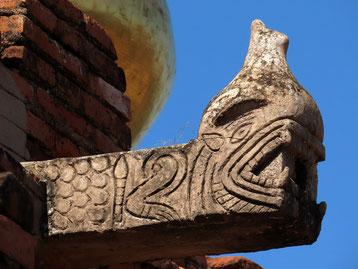 Wasserspeier an der Dhamma Ya Zi Ka Pagode