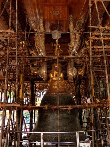 Maha Gandha Glocke bei der Shwedagon Pagode