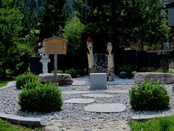 Japanischer Garten in St Anton am Arlberg