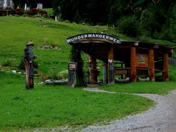 Wunderwanderweg an der Senn-Hütte