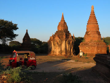 Tuk Tuk in Bagan