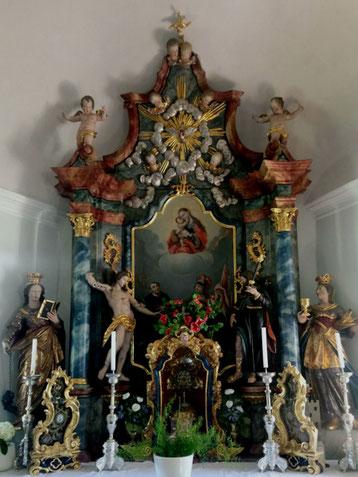 Barockaltar der Magnuskapelle