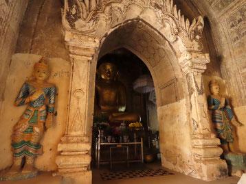 im Inneren des Lemyethna Tempel