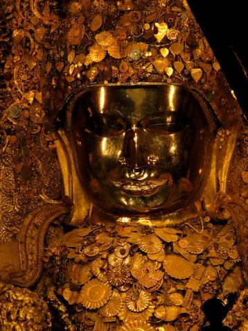 Mahamuni Statue Mandalay