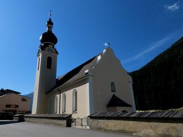 Pfarrkirche in Flirsch