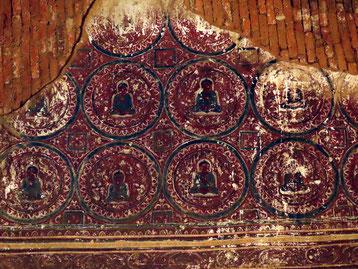 Malereien im Ywa Haung Gyi Bagan