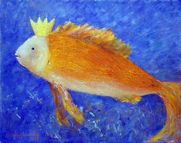 """Татьяна Казакова. """"Золотая рыбка"""", 2013"""