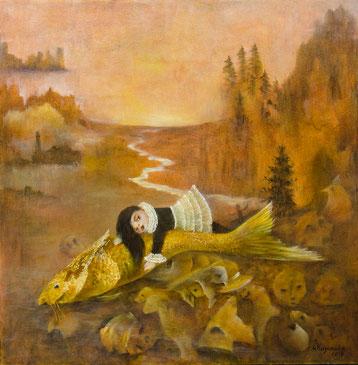 Татьяна Казакова. Рыба моей мечты. 2018