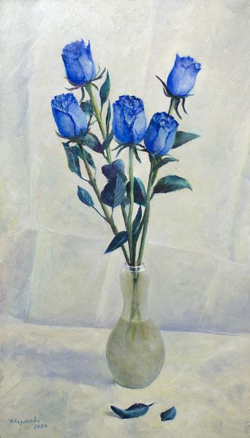 Татьяна Казакова. Синие розы или Roses Bleues/ 2020