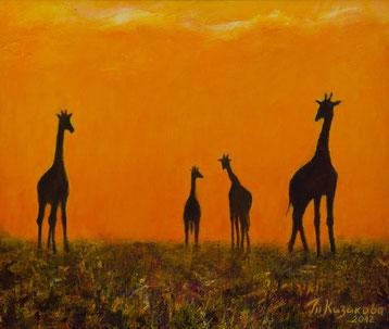 """Татьяна Казакова. """"Где-то в жаркой Африке"""", 2012"""