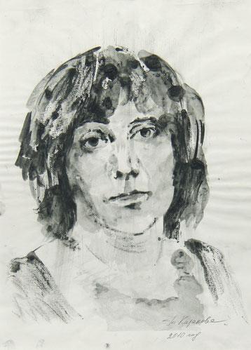 Татьяна Казакова. Автопортрет. 2010