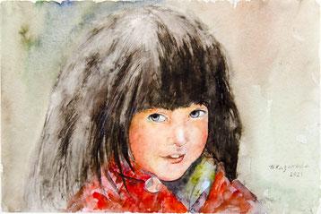 Татьяна Казакова. Кореянка. 2021