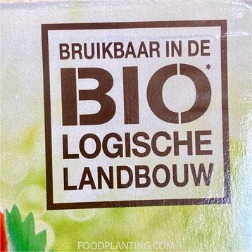 naturen meststof voor fruit, bruikbaar in de biologische landbouw, biologsich