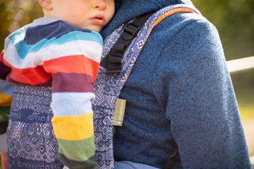 Rückentragen Kleinkind