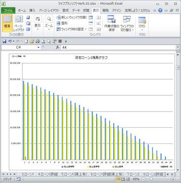 ライフプランシミュレーションソフト 住宅ローン6